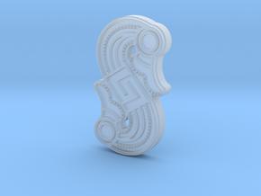 Alemannic S-Fibula Frankfurt, casting, riffled in Smoothest Fine Detail Plastic