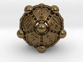 Nucleus D20 XL in Natural Bronze