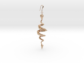 N. 17 in 14k Rose Gold Plated Brass