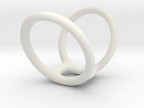 Ring splint 5-5 8-25 30mm in White Natural Versatile Plastic