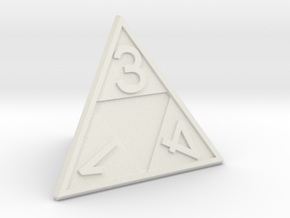 Triforce D4 in White Strong & Flexible