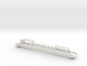 N04 - Optional Waratah Motor Chassis in White Strong & Flexible