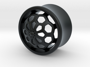 VORTEX1-16mm in Black Hi-Def Acrylate