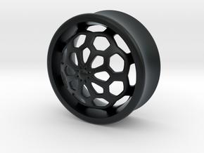 VORTEX1-25mm in Black Hi-Def Acrylate