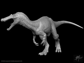 Baryonyx 1/72 in White Natural Versatile Plastic