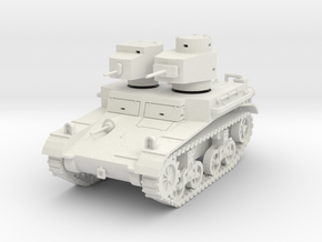 """PV42A M2A2 """"Mae West"""" Light Tank (28mm) in White Natural Versatile Plastic"""