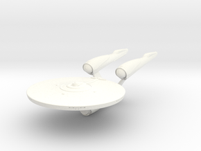 Enterprise in White Processed Versatile Plastic