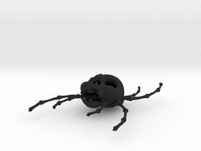 Skull tarantula in Black Acrylic