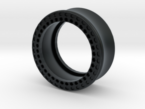 VORTEX11-25mm in Black Hi-Def Acrylate