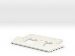 Glassic Plate 183 in White Natural Versatile Plastic