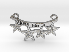Shine Like A Star by ~M. in Natural Silver