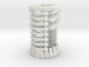 KR Luke Hero -  Master Chassis Part2 - CC Shell in White Natural Versatile Plastic