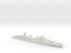 Halland-class destroyer, 1/3000 in White Natural Versatile Plastic