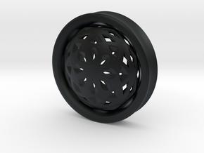 VORTEX2-51mm in Black Hi-Def Acrylate