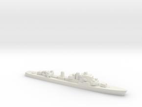 Ostergotland-class Destroyer, 1/2400 in White Natural Versatile Plastic
