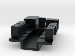 7201 • M9A1 Half-track Body in Black Hi-Def Acrylate