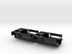 7202A • 2×British M14 Half-track Body in Black Hi-Def Acrylate