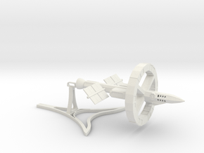 Odyssey-class Testbed With Stand in White Natural Versatile Plastic