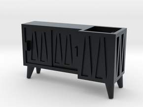 Cabinet in Black Hi-Def Acrylate: 28mm