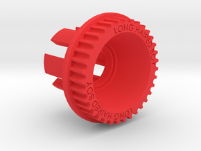 10mm 35T Pulley For Flywheels in Red Processed Versatile Plastic