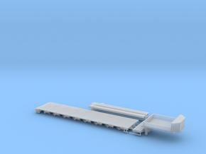 G 004-5 Tieflader ähnlich Goldhofer 8 achs V5 in Smooth Fine Detail Plastic