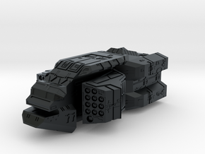 "Turanic Raider ""Brigand"" Missile Corvette in Black Hi-Def Acrylate"