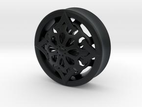 VORTEX6-33mm in Black Hi-Def Acrylate