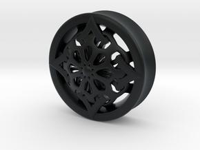 VORTEX6-35mm in Black Hi-Def Acrylate