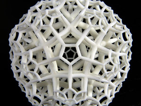 {5,3,4} H³ Honeycomb in White Strong & Flexible