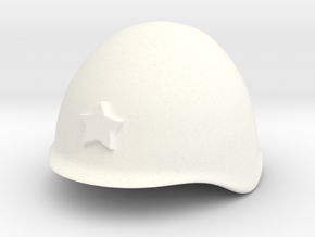 Russian Helmet ssh39/40 (test DC) in White Processed Versatile Plastic