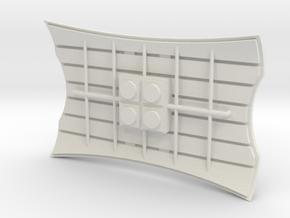 deAgo Millennium Falcon Radar Dish TFA - Episode 7 in White Strong & Flexible
