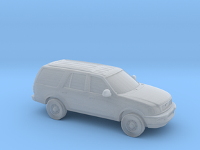 1/87 1999 Ford Expedition in Smooth Fine Detail Plastic