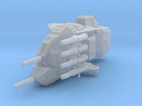 "Taiidan ""Diirvas"" Multi-Gun Corvette in Smooth Fine Detail Plastic"