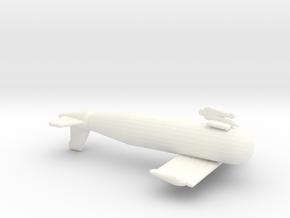 1/72 Scale IJN Paravane in White Processed Versatile Plastic