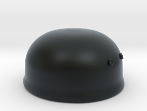 Paratrooper Helmet in Black Hi-Def Acrylate