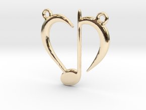 Love Music in 14K Yellow Gold