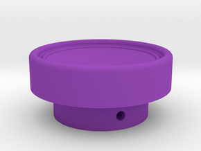 Russian HAT knob for CMS in Purple Strong & Flexible Polished