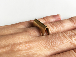 Ring No. 1 in Natural Brass: 6.5 / 52.75