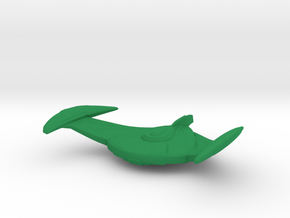 Romulan Bird-of-Prey (ENT) Attack Wing in Green Strong & Flexible Polished