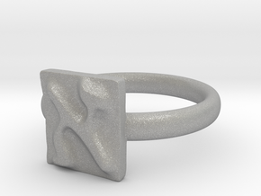 01 Alef Ring in Aluminum: 5 / 49
