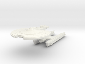 Midfrie Class III  HvyDestroyer in White Strong & Flexible
