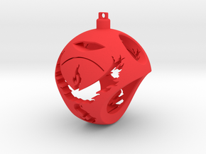 Team Valor Christmas Ornament Ball in Red Processed Versatile Plastic