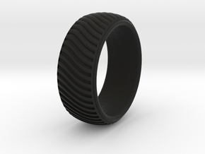 Braid Pattern 2  in Black Natural Versatile Plastic: 9.5 / 60.25