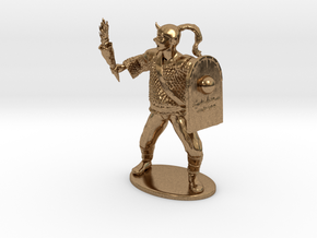 Goblin Miniature (MM Cover) in Natural Brass: 1:60.96