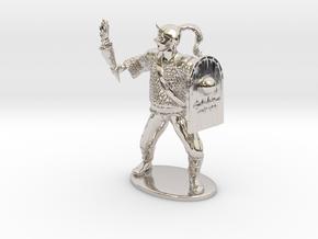 Goblin Miniature (MM Cover) in Platinum: 1:60.96