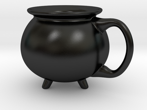 Cauldron Mug Small (Customizable!!) in Matte Black Porcelain