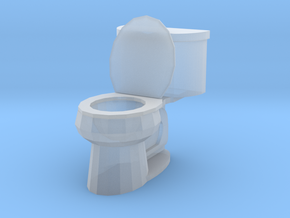 Toilet Open in Smoothest Fine Detail Plastic: 1:87 - HO