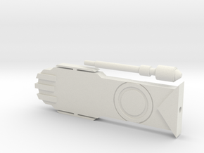 Transistor Accurate in White Natural Versatile Plastic