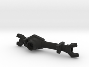 TM8 Front Leaf Left Drop Axle Housing in Black Natural Versatile Plastic