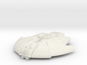 Cardassian  Kewasp Class Scout Destroyer in White Strong & Flexible